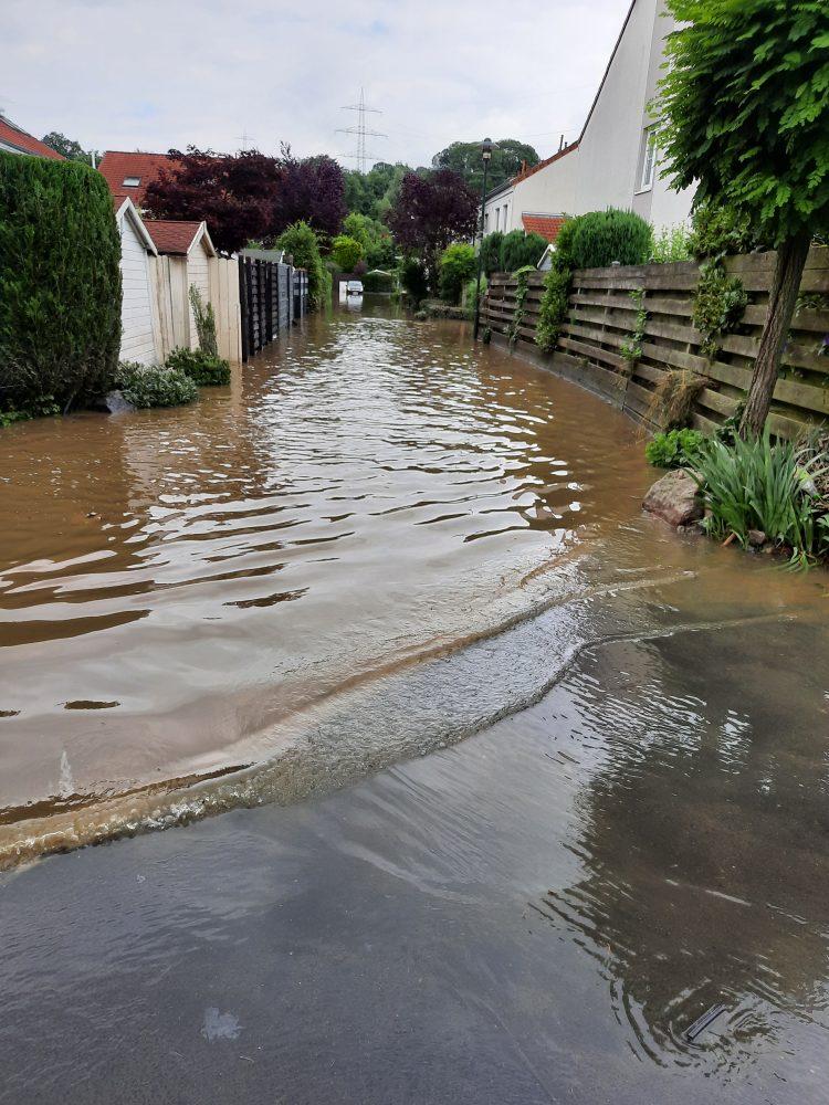 Hochwasser Rösrath
